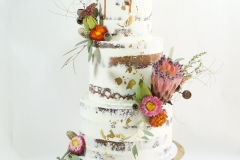 The Rachel wedding cake