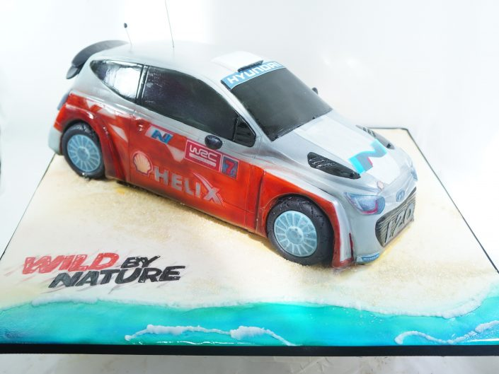 Official Rally Car Cake 2016