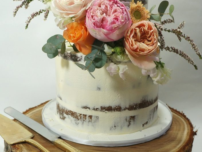 The Sarah Wedding Cake