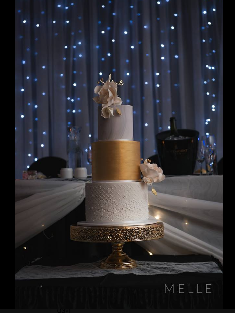 The wedding cake of Stephanie & Jack