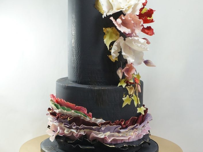 Black Beauty birthday Cake