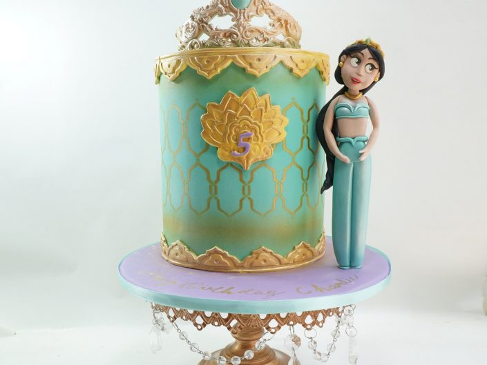Disney's Princess Jasmine Cake