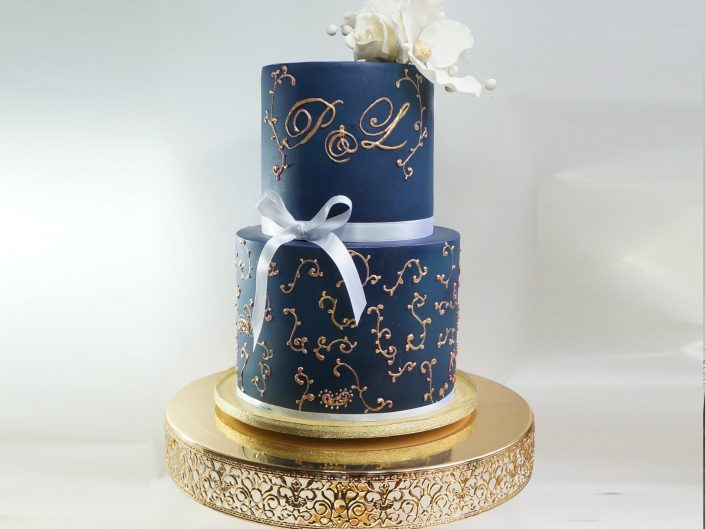 The Preety Wedding Cake