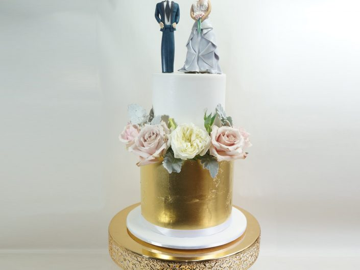 The Nicole Wedding Cake