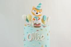 Ollie fox cake