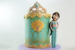 Disney's Princess Jasmine cake