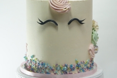 Buttercream unicorn cake