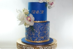 925-Manjinder-wedding-cake-blue-gold-punjabi