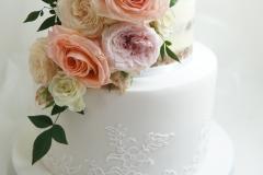 The Tenille wedding cake