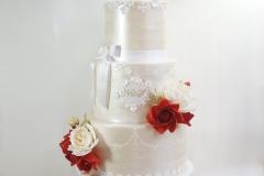 The Navi wedding cake