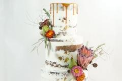 The Rachel wedding cake