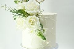 The Brooke wedding cake