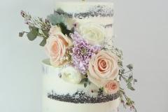 The Kayla wedding cake