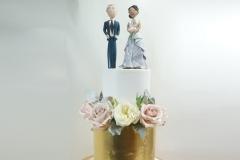 The Nicole wedding cake