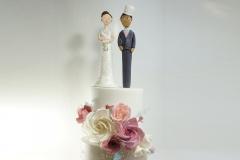 The Tina wedding cake