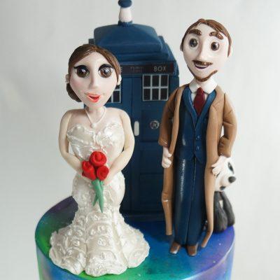 bride groom cartoon topper doctor who disney